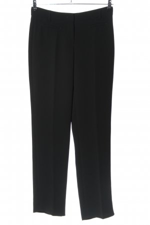 René Lezard Jersey Pants black casual look