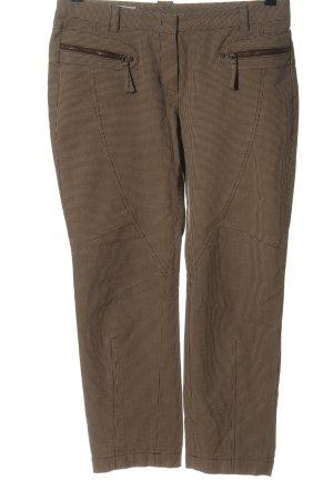 René Lezard Spodnie materiałowe czarny-w kolorze białej wełny W stylu casual