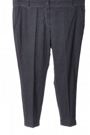 René Lezard Pantalone jersey grigio chiaro-nero puntinato stile casual