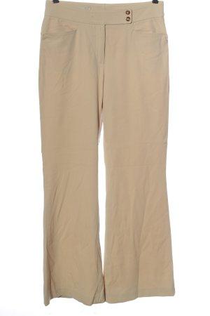 René Lezard Jersey Pants cream business style