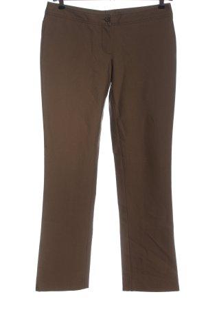 René Lezard Jersey Pants brown mixture fibre