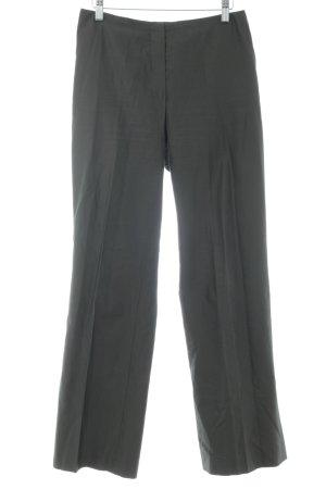 René Lezard Jersey Pants black brown silk