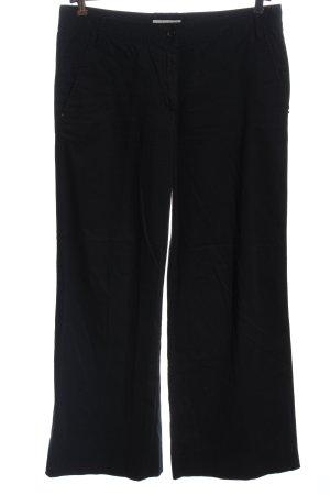René Lezard Jersey Pants black business style