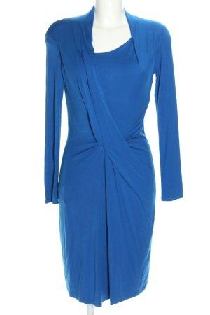 René Lezard Stretchkleid blau Elegant