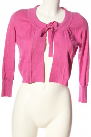 René Lezard Strickbolero pink Casual-Look
