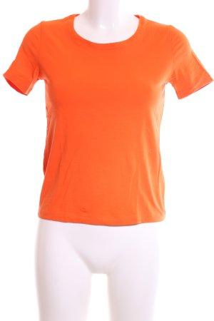 René Lezard T-Shirt hellorange Casual-Look