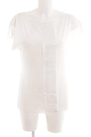 René Lezard T-Shirt wollweiß Casual-Look