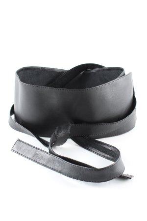 René Lezard Waist Belt black casual look