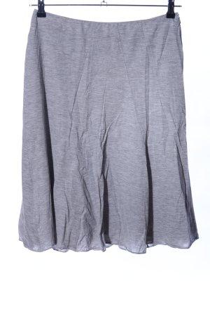 René Lezard Circle Skirt light grey flecked casual look