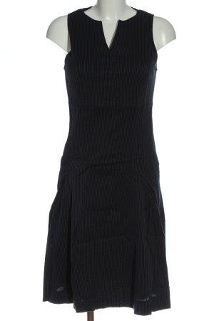 René Lezard Trägerkleid schwarz Elegant