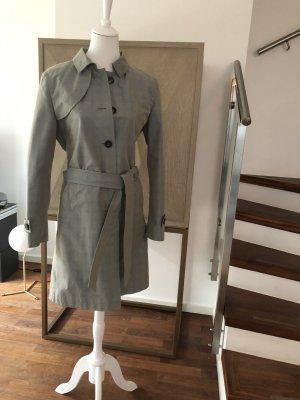 René Lezard Trench Coat pale blue-grey