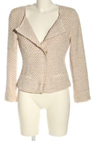René Lezard Blazer en tweed crème style d'affaires