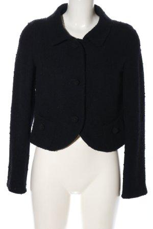 René Lezard Tweed Blazer black business style