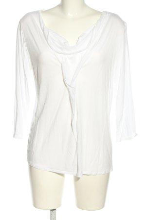 René Lezard Waterval shirt wit casual uitstraling