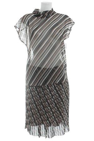 René Lezard Web twin set gestreept patroon straat-mode uitstraling