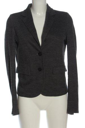 René Lezard Wool Blazer light grey flecked business style