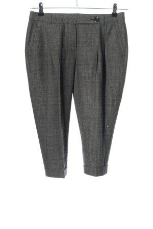 René Lezard Woolen Trousers light grey allover print casual look