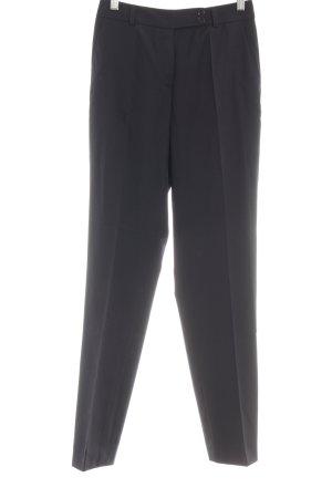 René Lezard Pantalone di lana nero stile professionale