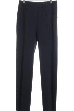 René Lezard Woolen Trousers black business style