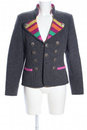 Renzo Traditional Jacket flecked casual look