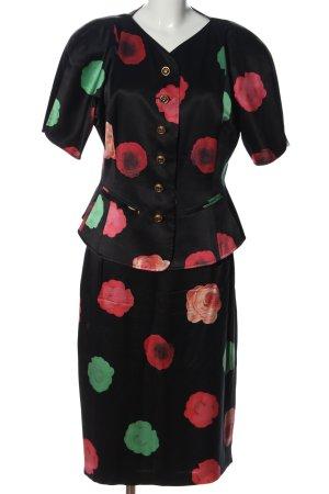 Renzo Woven Twin Set flower pattern casual look
