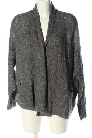 Repeat Cardigan grigio chiaro puntinato stile casual