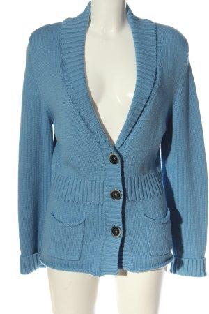 Repeat Cardigan blu stile casual
