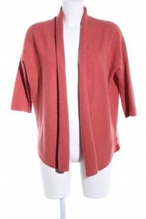 Repeat Cashmere Cardigan rot meliert Casual-Look