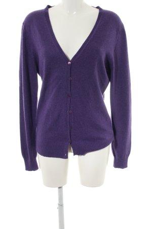 Repeat Cashmere Cardigan violet style décontracté