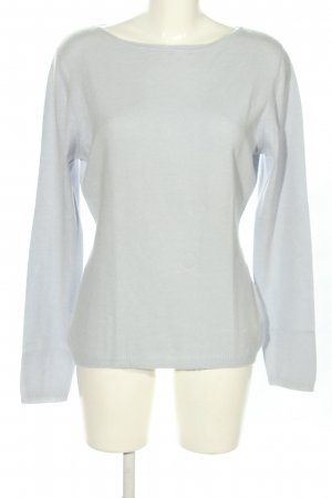 Repeat Cashmerepullover hellgrau meliert Casual-Look
