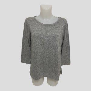 REPEAT Damen Pullover M 38 grau Baumwolle Viskose