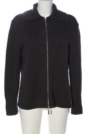 Repeat Cardigan a maglia grossa nero stile casual
