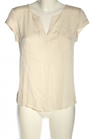 Repeat Kurzarm-Bluse creme Casual-Look