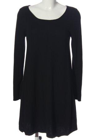 Repeat Langarmkleid schwarz Elegant