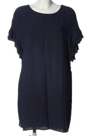 Repeat Minikleid blau Casual-Look