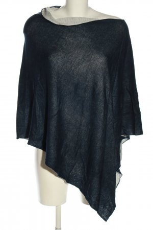 Repeat Poncho blau Casual-Look
