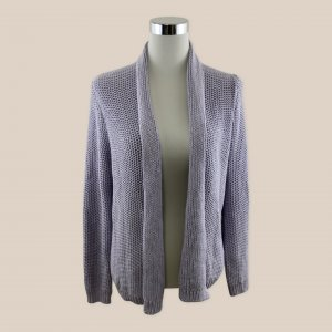 Repeat Giacca in maglia viola-malva Cotone