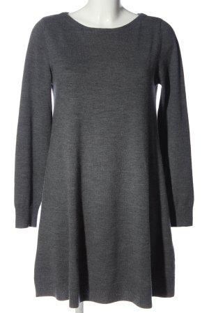 Repeat Robe pull gris clair moucheté style décontracté