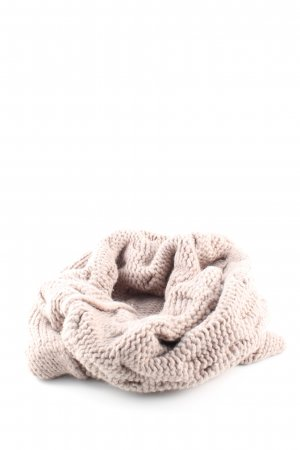 Repeat Snood cream cable stitch casual look