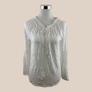REPEAT Shirt Bluse Tunika weiß Gr. 40 L