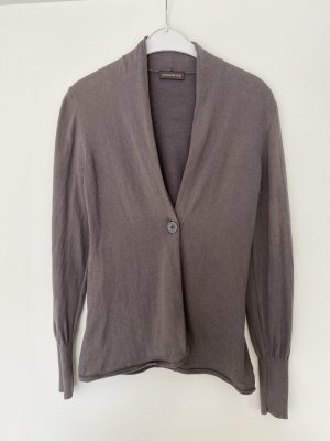 Repeat Strickjacke/Blazer in taupe