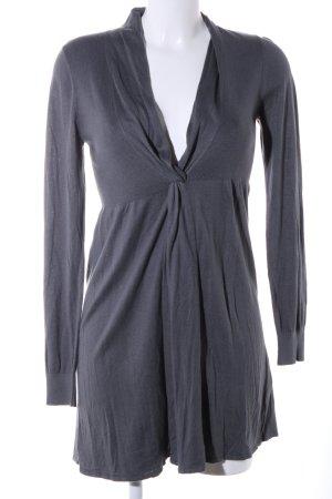 Repeat Robe en maille tricotées gris clair imprimé allover style décontracté
