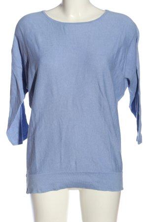 Repeat Strickpullover blau Casual-Look