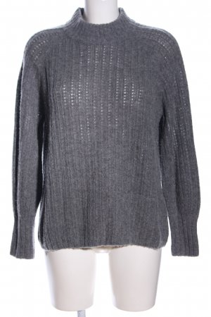 Repeat Strickpullover hellgrau Casual-Look