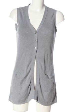 Repeat Smanicato lavorato a maglia grigio chiaro stile casual