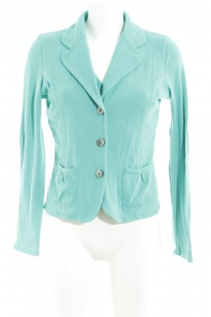 Repeat Sweatblazer mint Plastikelemente