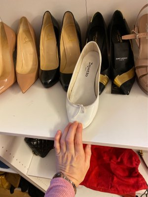 Repetto Flats weiß
