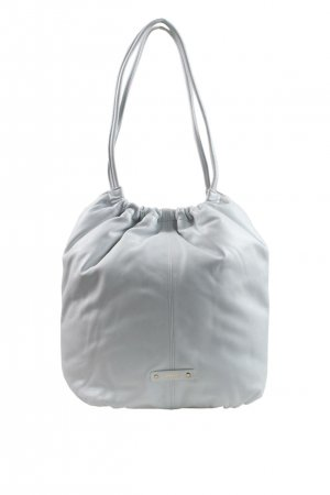 Repetto Schultertasche in Weiß aus Leder