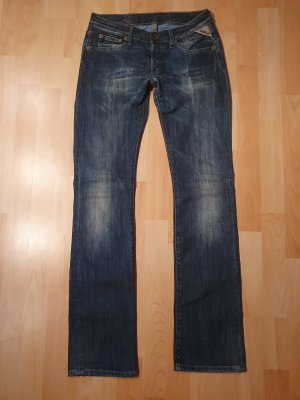 Replay Jeans vita bassa multicolore