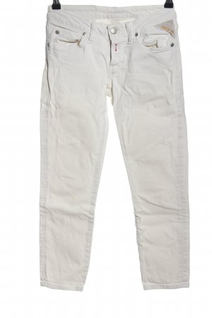 Replay 3/4 Length Jeans light grey casual look